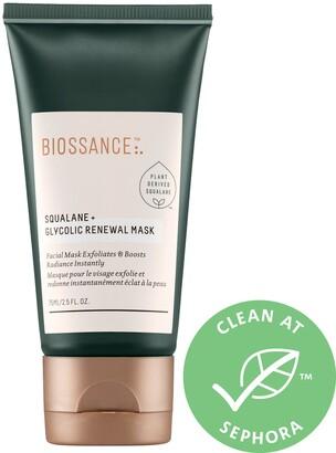 Biossance Squalane + Glycolic Renewal Mask