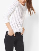 Michael Kors Cotton Boatneck Sweater