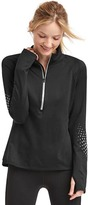 Gap Reflective print half-zip pullover