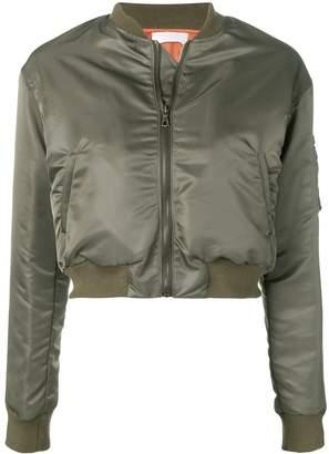 John Elliott cropped bomber jacket