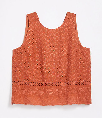 LOFT Plus Eyelet V-Back Shell
