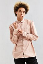 Urban Outfitters Fuzzy Flannel Button-Down Shirt