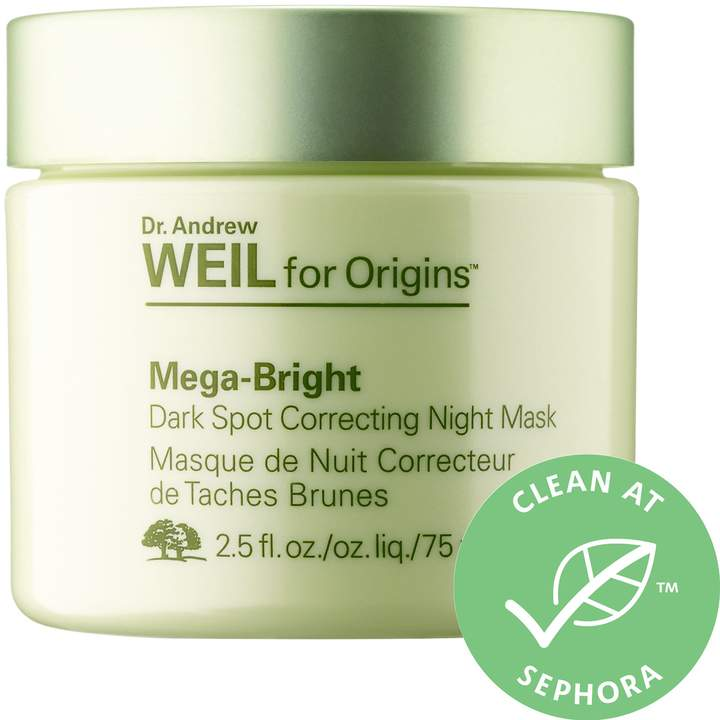 Dr  Andrew Weil For Mega-Bright Dark Spot Correcting Night Mask