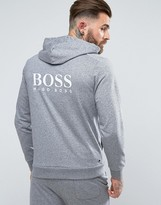 Boss By Hugo Boss Hooded Jacket With Zip Through