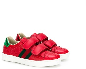 Gucci Kids GG logo sneakers