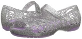 Crocs Isabella Glitter Jelly Flat PS (Toddler/Little Kid)