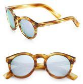 Illesteva Leonard II 50MM Round Sunglasses