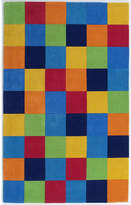 Viv + Rae Shari Boys Blocks Blue Area Rug Rug