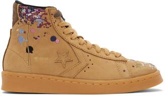 Converse Brown Bandulu Edition Pro Leather High Sneakers