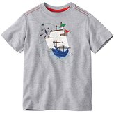 Boys Get Appy Appliqué Tee In Supersoft Jersey