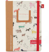 Joules A5 Notebook - All Over Dog