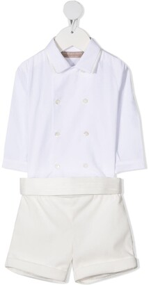 La Stupenderia Tailored Shirt Short Set