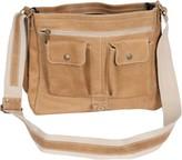 David King 6152 Medium Distressed Laptop Messenger Bag
