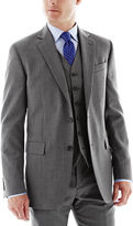 JCPenney Stafford Executive Super 100 Wool Jacket - Slim Fit
