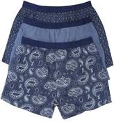 M&Co Paisley boxers three pack