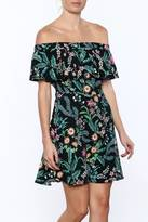 Do & Be Tiered Off Shoulder Dress