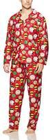 Peanuts Men's Family Sleep 2-Piece Holiday Coat Set