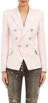 Balmain Women's Double-Breasted Blazer-PINK