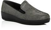 FitFlop Superskate Lizard-Print Platform Loafers