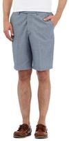 Maine New England Navy Fine Striped Chino Shorts