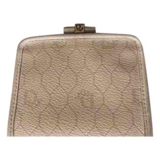 Christian Dior White Cloth Purses, wallets & cases
