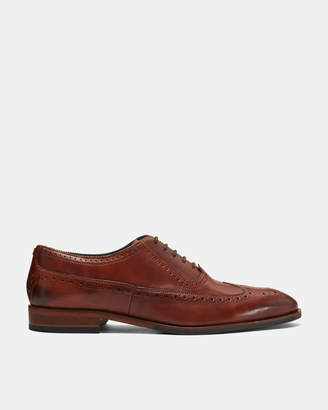 Ted Baker ASONCE Contemporary leather longwing brogues