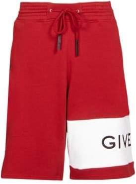 Givenchy Felpa Logo Band Shorts