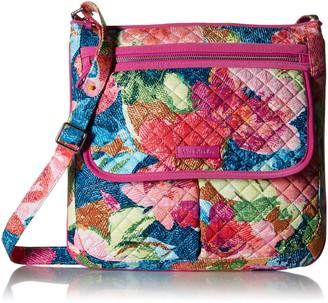 Vera Bradley Women's Signature Cotton Mailbag Crossbody Purse