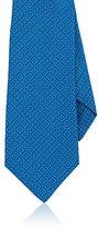 Kiton Men's Diamond-Pattern Silk Necktie