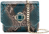 Elie Saab snakeskin effect shoulder bag