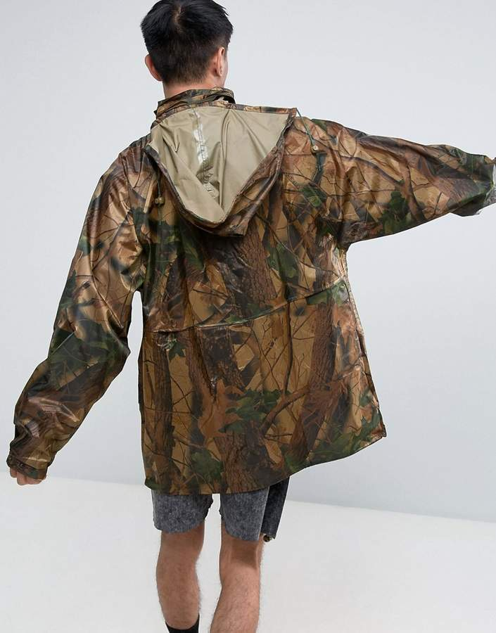 Reclaimed Vintage Revived Military Camo Jacket