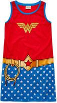 Asstd National Brand Sleeveless Wonder Woman Sleep Shirt - Girls