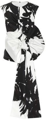 Dries Van Noten Printed silk-blend top
