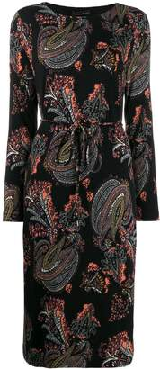 Etro patterned midi dress