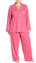 Lauren Ralph Lauren Plus Size Women's Knit Pajamas