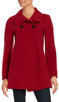 Larry Levine Wool-Blend Walking Coat