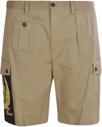 Dolce & Gabbana Side-pocket Shorts