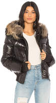 SAM. Skyler Puffer Jacket with Raccoon Fur