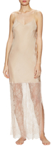 Gold Hawk Lace Maxi Dress