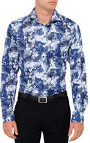 Eton Floral Print Shirt Slim Fit