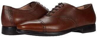 Salvatore Ferragamo Riley Oxford (Black) Men's Shoes