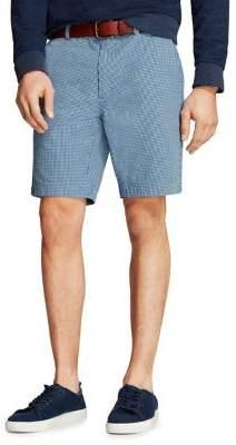 Brooks Brothers Red Fleece Gingham Cotton Seersucker Shorts