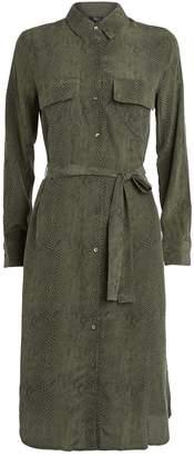 Rails Alix Silk Shirt Dress