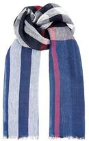 Burberry Shoes & Accessories Linen Mega Check Scarf