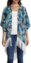Studio 36 Mix Print Floral Wrap Fashion Wrap