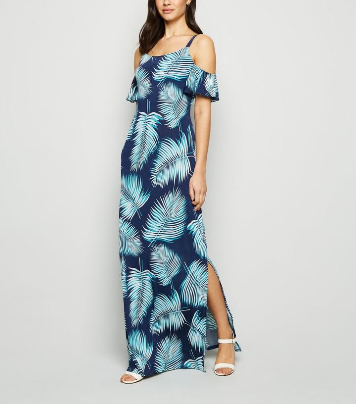 New Look Mela Tropical Maxi Dress