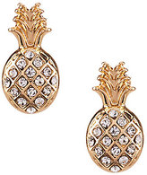 Anna & Ava Pave Pineapple Stud Earrings