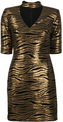 Alice + Olivia Inka leopard print dress