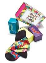 Neiman Marcus Crazy Good Cheer Socks Holiday Gift Set