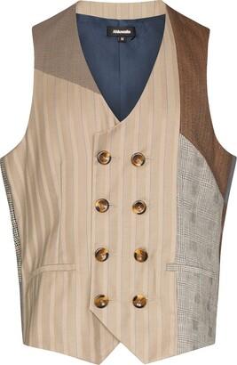 Ahluwalia Studio Winston double-breasted waistcoat